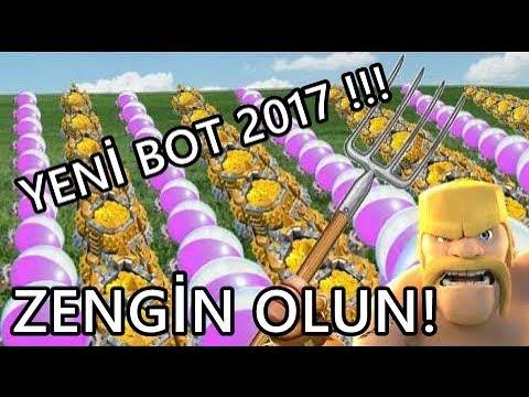 CLASH OF CLANS YENİ BOT 2017