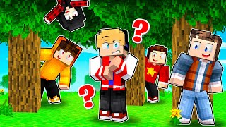 DESAFIO DO ESCONDE ESCONDE COM MEUS AMIGOS YOUTUBERS NO MINECRAFT !