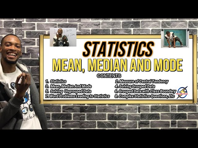 Statistics | Mean, Median & Mode (Simplified)