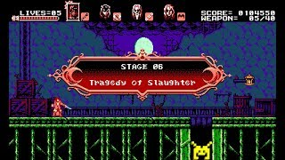 Let's Play Bloodstained: Curse of the Moon: Tragedy of Slaughter (6/8)