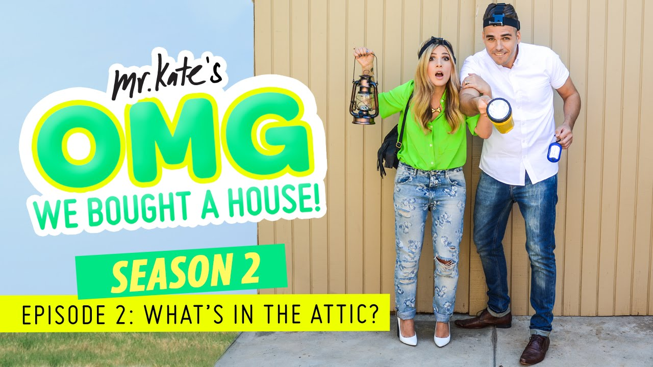 What S In The Attic Omg We Bought A House Youtube