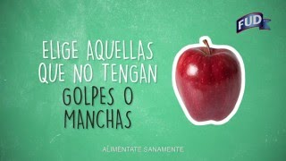 Cómo elegir y conservar manzanas.