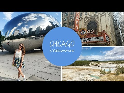 Chicago & Yellowstone adventure | USA travel VLOG | Stelfie