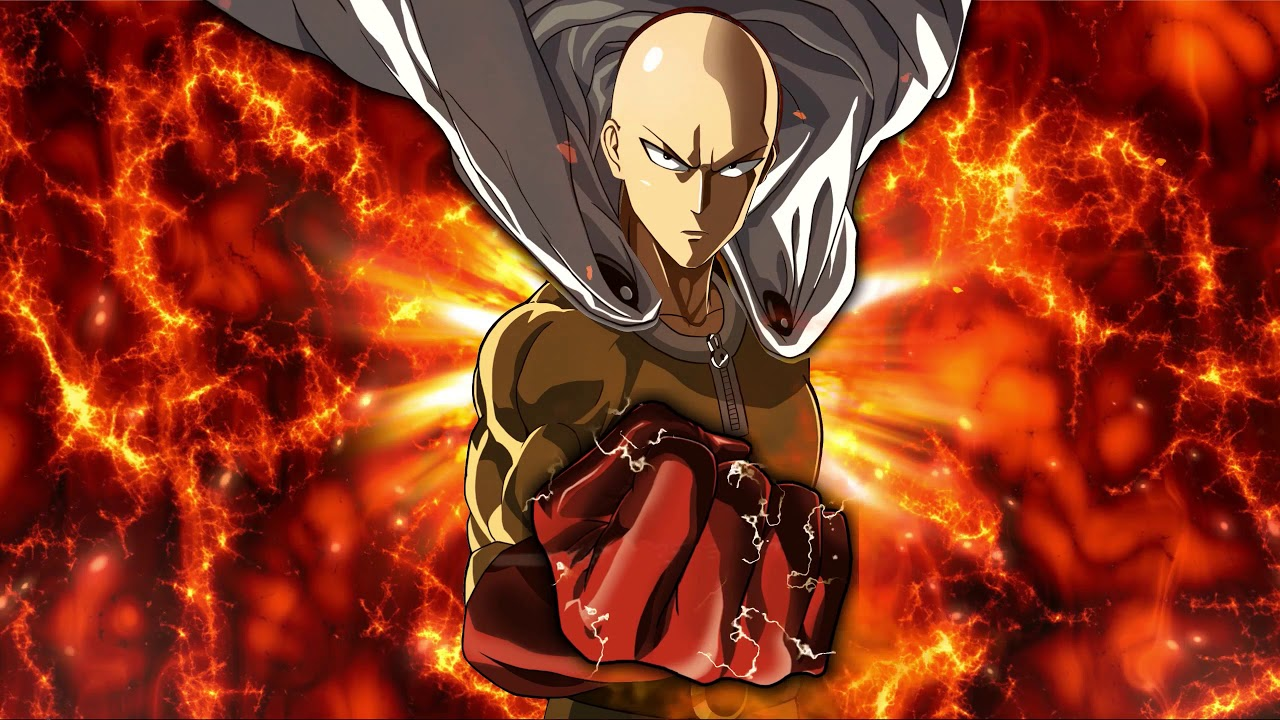Wallpaper Saitama 2k One Punch Man Youtube