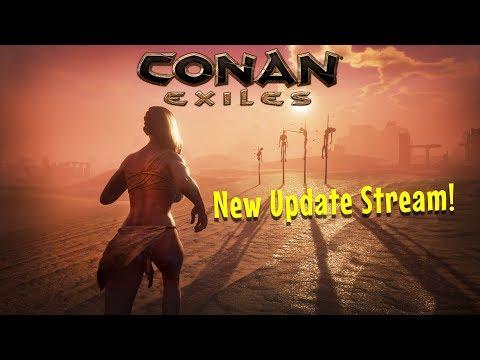 CONAN EXILES - Combat, Farming, Fast Travel, Purge Update!