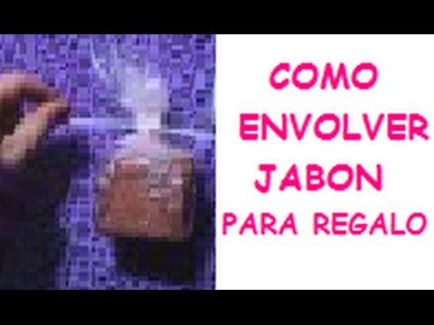 Como envolver jabon para regalo original hamandita beads - Como envolver un regalo grande ...