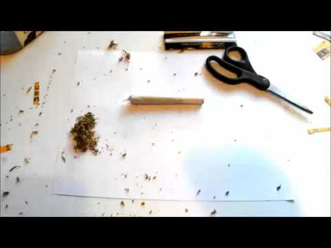 How to roll a scorpion joint