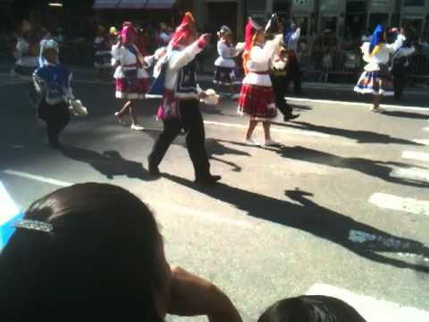 Bolivian-Peru dance feud erupts at the Immigrants Day Parade in NYC