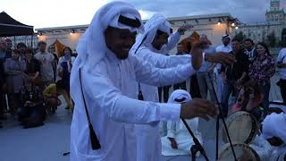 Qatari musicians live 2018. Arabic music and dance in Moscow. Part 6