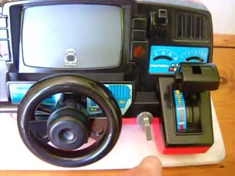 Playmates Fun To Drive Corvette Front Driving Simulator Toy 1985 In