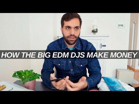 HOW THE HIGHEST EARNING EDM DJs MAKE THEIR MONEY