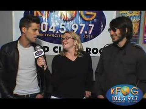 The Bravery - KFOG Interview