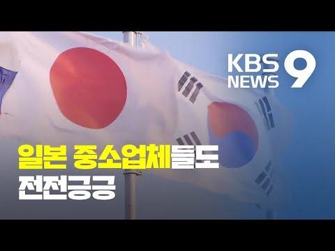 """수출규제에 日 중소업체들도 '긴장'…""""앞으로가 더 문제"""" / KBS뉴스(News)"""
