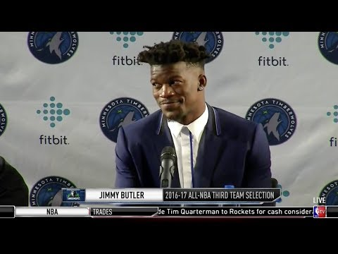 Jimmy Butler Reveals WHEN He Found Out He Got Traded