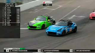 Race 1 - 2021 Mazda MX-5 Cup At St. Petersburg Street Course