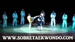 Formidable exhibición de Taekwondo con los K Tigres de Korea
