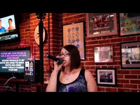 Julie S - Karaoke - Alicia Keys: If I Ain't Got You Cover
