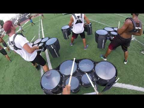 Blue Devils 2017 Snare/Quad Cam - Miles Kenobbie