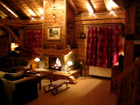 Int rieur chalet youtube for Interieur chalet
