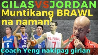 Team Pilipinas VS Jordan Tuneup: Muntik na namang mauwi sa BRAWL!!
