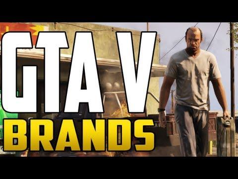GTA V - ALL BRANDS & BUSINESSES