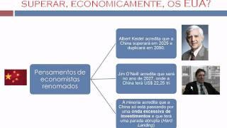 CHINA X EUA - NUMA GUERRA PELO COMÉRCIO MUNDIAL - Gabriel Antônio, Pedro e Otávio