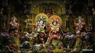 Sandhya Arati Darshan Sri Sri Radha Rasbihari Temple 14th Aug 2018 Live from ISKCON Juhu, Mumbai