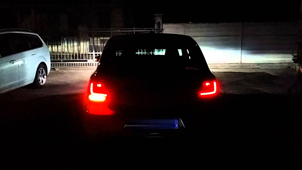 Fari Posteriori Notte Full Led Polo 6R - Full Leds Polo 6R Taillights Night V...