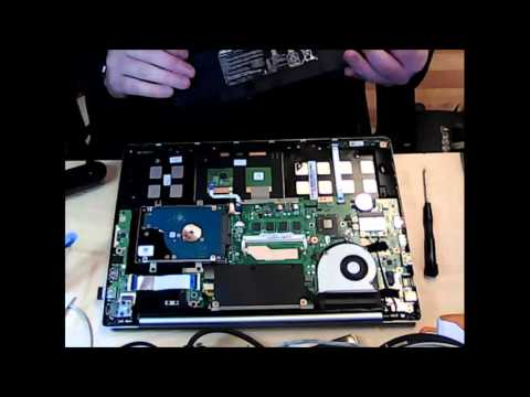 How To Replace The Asus S400C Laptop Notebook Battery Replacement