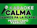 Pedro Capó Farruko Calma Remix KARAOKE Con LETRA mp3