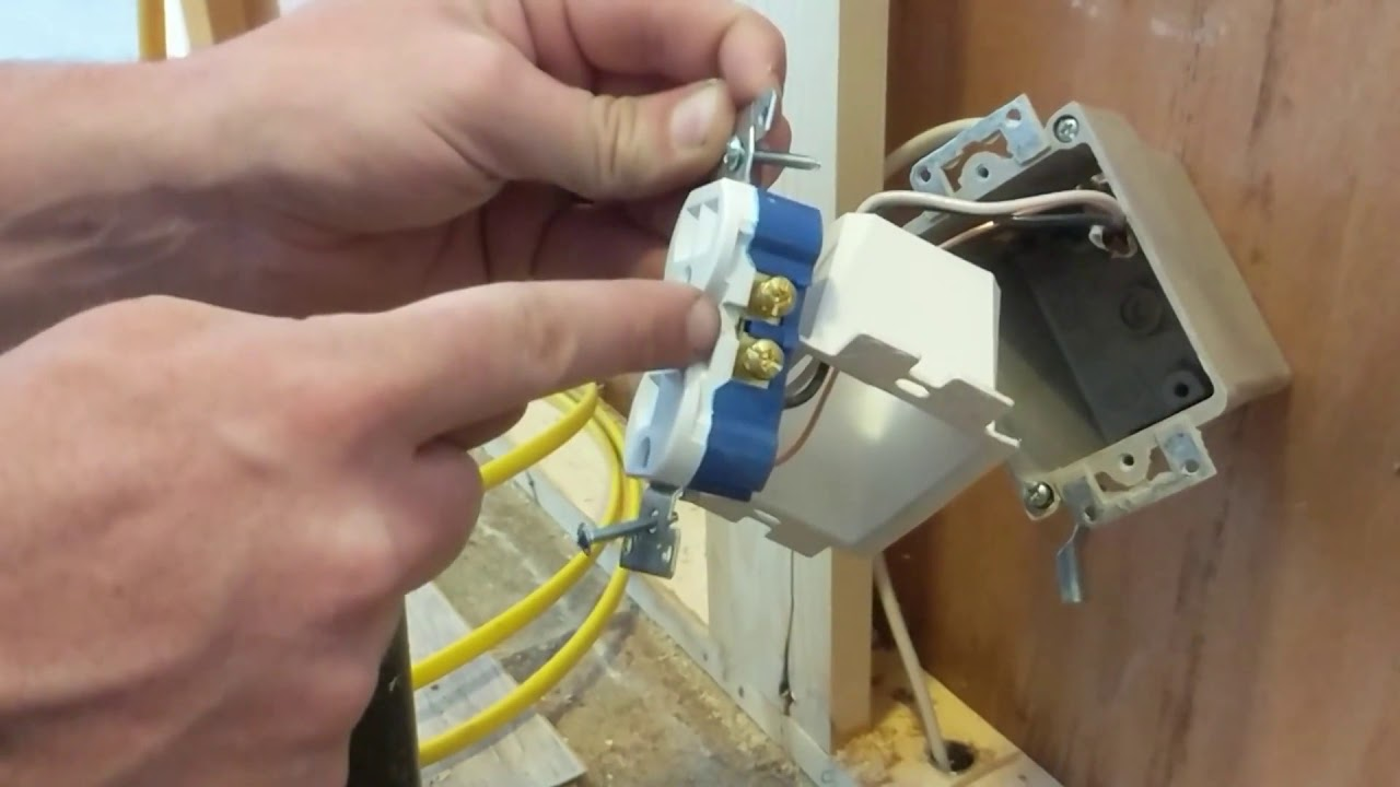 Wiring For A Switched Disposal Kitchen Sink Disposal Outlet Youtube