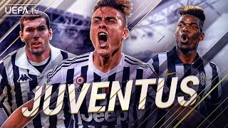 Juventus | GREATEST European Moments | Zidane, Pogba, Dybala | BackTrack