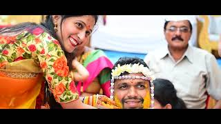 Marathi wedding   Tejas & Mrudula   Zingaat song   Haldi   Maharashtrian  wedding   Part 1