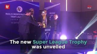 New Super League trophy unveiled thumbnail