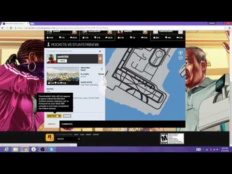 (Gta5) How to bookmark a job off Rockstar social club