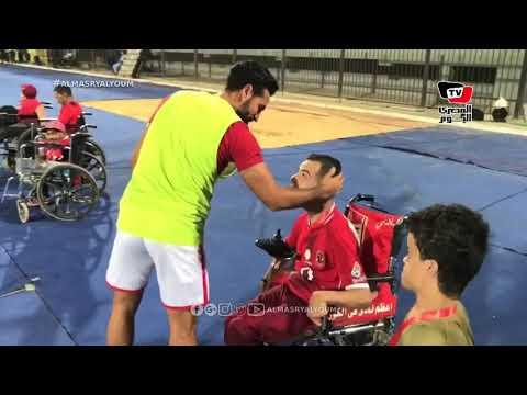«محارب» لطفل من ذوي الاحتياجات الخاصة طلب قميصه: الماتش الجاي