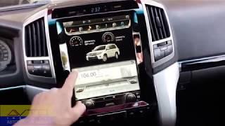 ШГУ в стиле Tesla на Toyota Land Cruiser 200