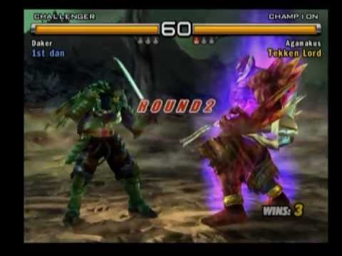 Tekken 5 Yoshimitsu vs Jinpachi - YouTube