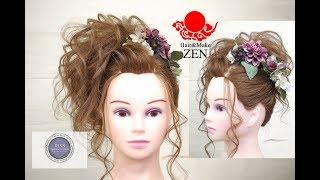 盛り髪の作り方革命 卒業式、体育祭ヘアセット ZENヘアアレンジ125 Japanese BIG hair arrangement tutorial thumbnail