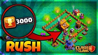 On RUSH A 3000TR EN BH3 ! (Clash of clans FR ) Partie 1