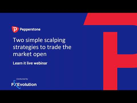 Two simple scalping strategies to trade the market open