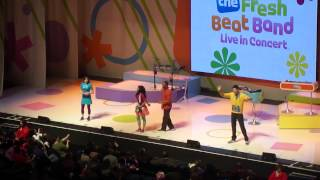 "The Fresh Beat Band ""Fresh Beat Band Theme"" and ""Good Times"" 3/4/12 #1"
