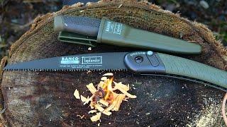 Bahco Laplander Folding Saw MORA KNIFE COMBO