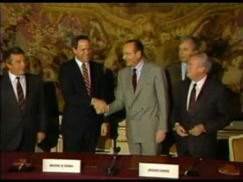 24th March 1987: Walt Disney Company and French Government sign Euro Disneyland agreement
