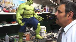 SIDESHOW HULK MAQUETTE REPAINT