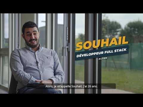 ALTEN Sud-Ouest - Portrait de Souhail