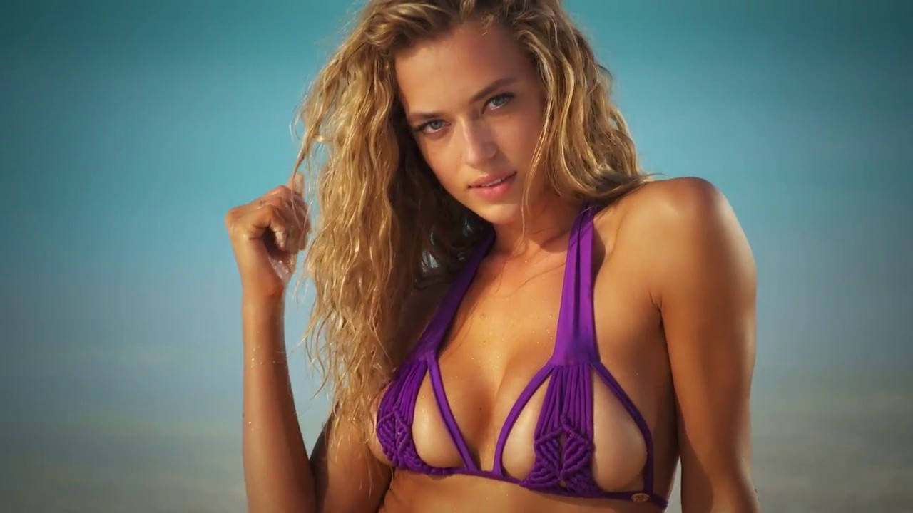 Hannah Ferguson Intimates Swimsuit 2016