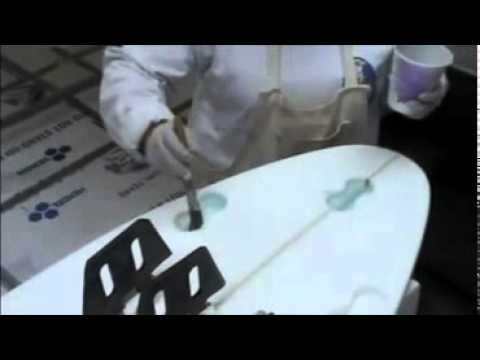 Installing a FCS Fusion Box On a Surfboard