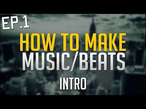 How To Make Hip Hop Beats/Music on Computer - EP.1 - FL Studio 12