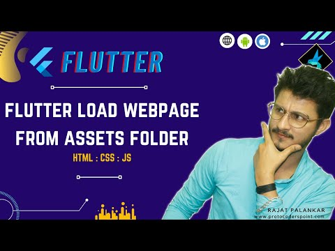 Load HTML, CSS, JavaScript locally in app using Webview Flutter Plus